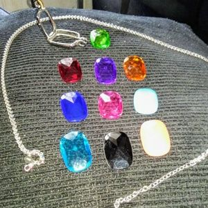 Joan Rivers Reversible Stone Chain